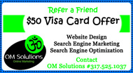 Refer A Friend $50 Visa Card